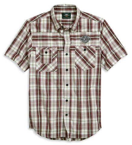 Harley-Davidson® Men's Embroidered B&S Shirt