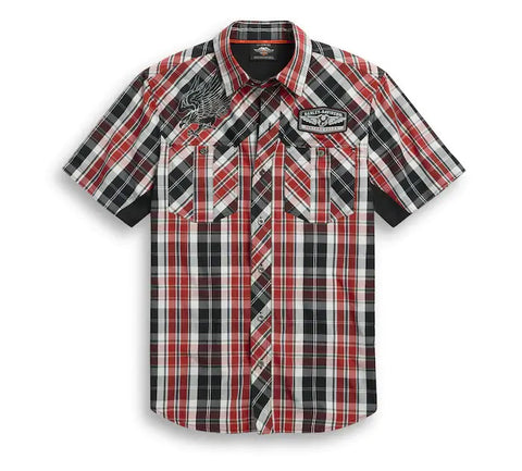 Harley-Davidson Men's Performance Plaid Shirt