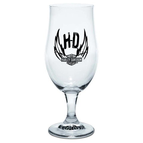 Harley-Davidson® Munique Footed Beer Glass