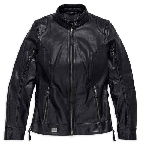 Harley-Davidson® Women's Line Stitcher Leather Jacket