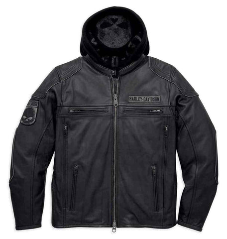 Harley-Davidson® Men's Auroral 3-in-1 Leather Jacket