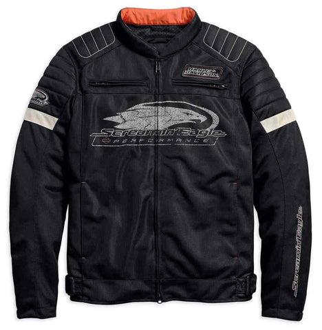 Harley-Davidson® Men's Screamin' Eagle Mesh Riding Jacket