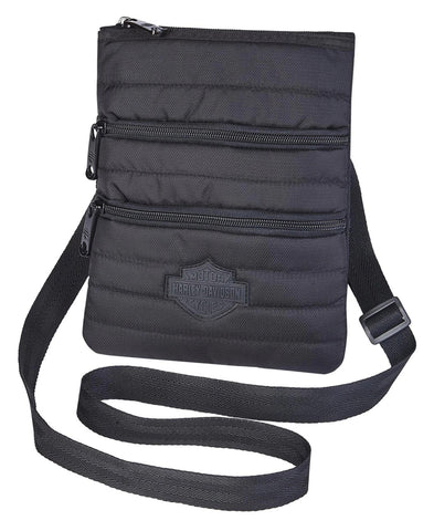 Harley-Davidson® Quilted Cross-Body Sling Purse