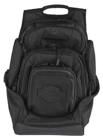Harley-Davidson® Sculpted Bar & Shield Deluxe Backpack