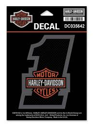 Harley-Davidson® #1 Bar & Shield Decal