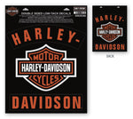 Harley-Davidson® H-D Bar & Shield Rockers Window Cling