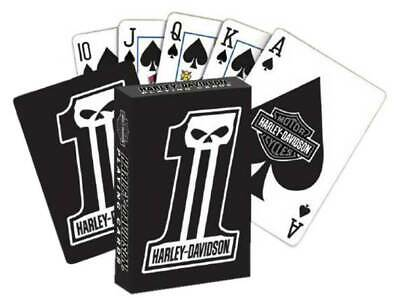 Harley-Davidson Dark Custom #1 Logo Premium Playing Cards
