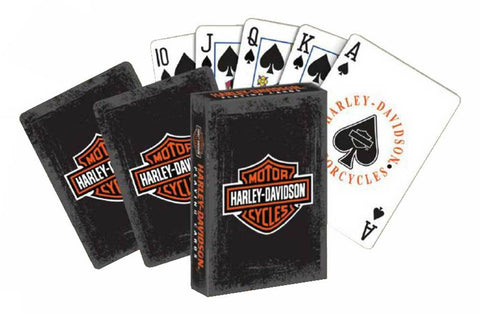 Harley-Davidson® Rustic Bar & Shield Logo Playing Cards