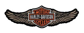 Harley-Davidson® Straight Wing Patch
