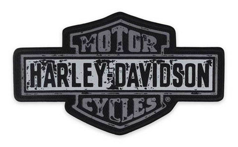 Harley-Davidson® Screen Printed Premium B&S Emblem Patch