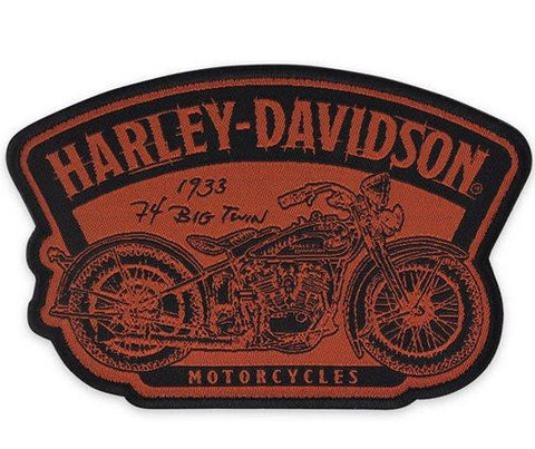 Harley-Davidson® Timeline Motorcycle Small Woven Patch