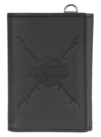 Harley-Davidson® Men's Danger Zone Tri-Fold Wallet