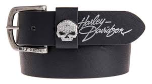 Harley-Davidson® Women's Rock Candy Embellish Willie G Skull Belt