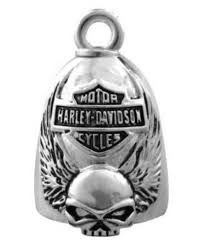 Harley-Davidson® Winged Skull Bar and Shied Ride Bell