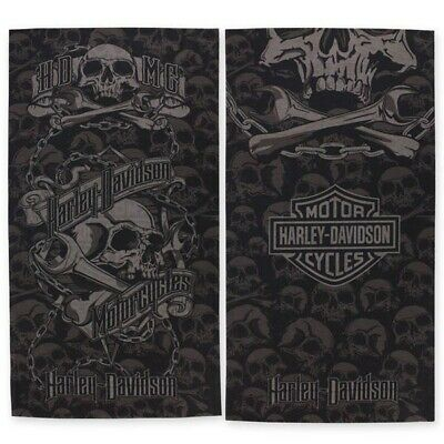 Harley-Davidson® Mens Grim Skull Wrenches Multifunctional Headwear