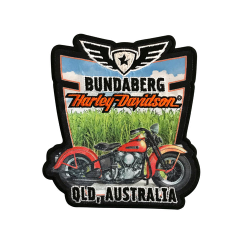 Bundy H-D Custom Dealer Emblem / Patch
