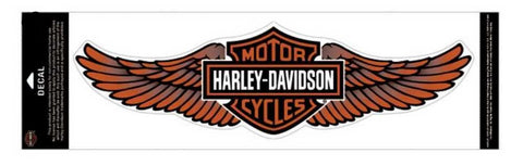 Harley-Davidson® Straight Wing Decal Orange