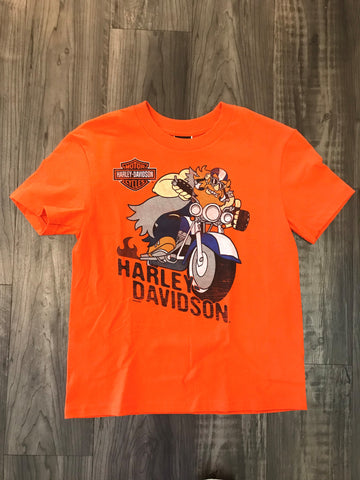 Harley-Davidson® Kids Dealer Tee - Orange