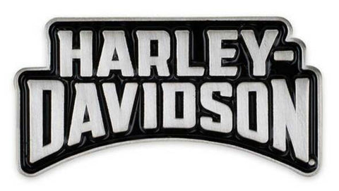 Harley-Davidson® 2D Die Struck Insignia H-D Pin - Polished Silver Effect