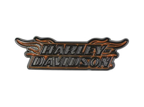 Harley-Davidson® Strong HD Flames 3D Pin