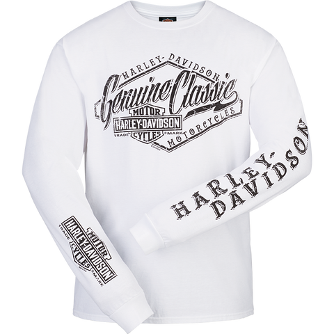 Cracked Classic Mens Long Sleeve