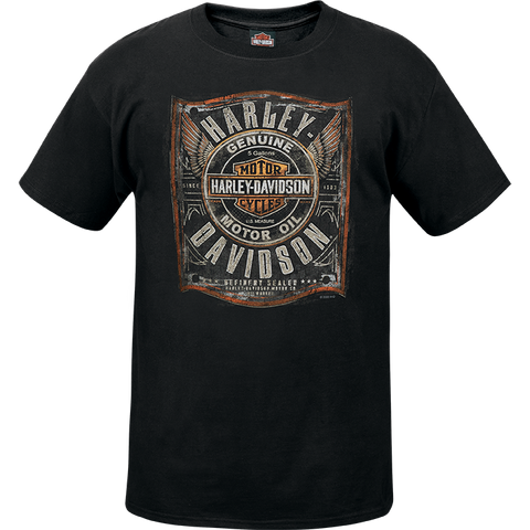 Garage Oil Mens Short Sleeve