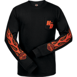 Hot Spot Mens Long Sleeve