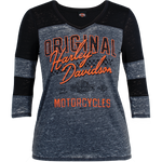 Original H-D Ladies 3/4 Sleeve