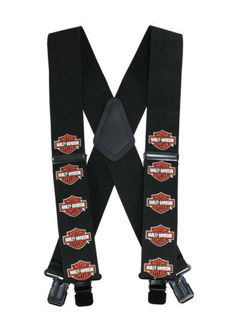 Harley-Davidson® Bar & Shield Suspenders