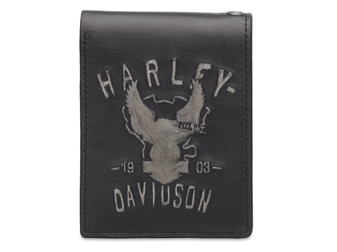 Harley-Davidson® Shadow Eagle Bi-Fold Wallet