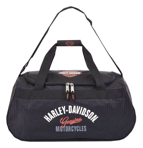 Harley-Davidson® Tail of the Dragon Black Duffel Bag
