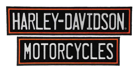 Harley-Davidson® Embroidered Straight Rockers Emblem