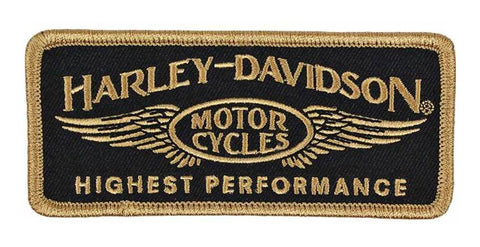 Harley-Davidson® Embroidered Highest Performance Emblem Patch