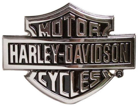 Harley-Davidson® Mens Chrome Bar & Shield Logo Belt Buckle