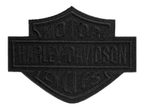 Harley-Davidson® Black Bar & Shield Emblem Patch