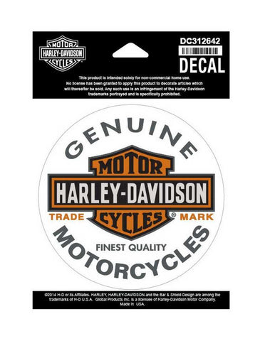 Harley-Davidson® Long Bar & Shield Decal