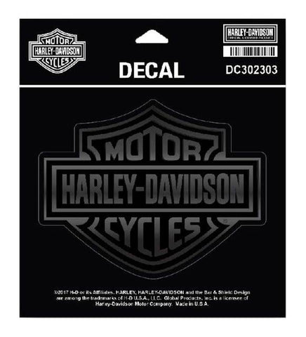 Harley-Davidson® Matte & Gloss Bar & Shield Decal