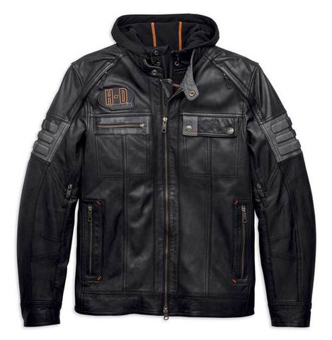 Harley-Davidson® Men's Bridgeport 3-in-1 Leather Jacket