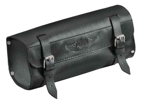 Harley-Davidson® Handlebar/Fork Bag, Durable Leather