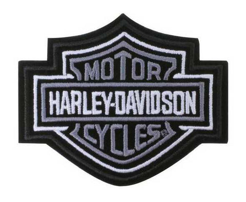 Harley-Davidson® Bar & Shield Patch Black