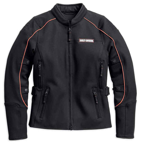Harley-Davidson® Womens Fennimore Stretch Riding Jacket