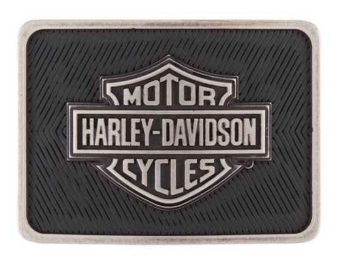 Harley-Davidson® Mens Legacy B&S Belt Buckle