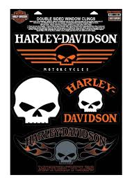 Harley-Davidson® Willie G Skulls Window Clings