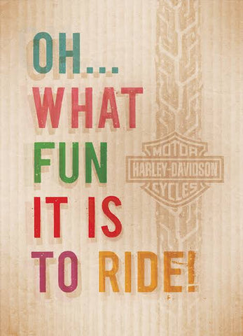 H-D™ Oh What Fun It Is Christmas Card