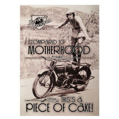 Harley-Davidson® Piece of Cake Mother's Day Greeting Card