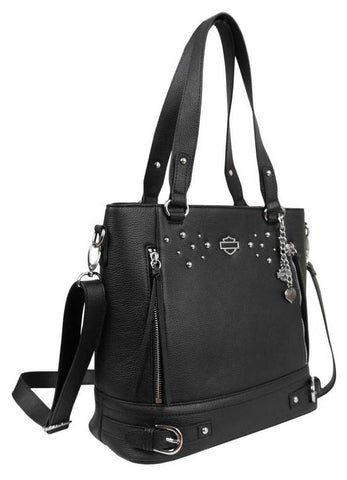 Harley-Davidson® Women's Rider Leather Bucket Bag