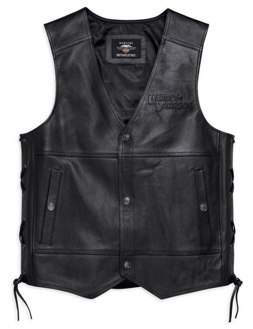 Harley-Davidson® Men's Tradition II Leather Vest