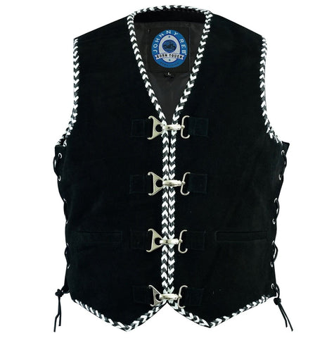 Johnny Reb Men's Springbrook Suede Vest