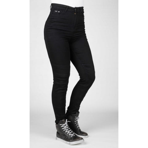 Bull-It 20 Ladies Fury II Black Skinny Jeggings - Regular Leg