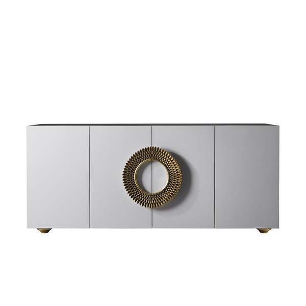 Artedo Sideboard in White and Gold